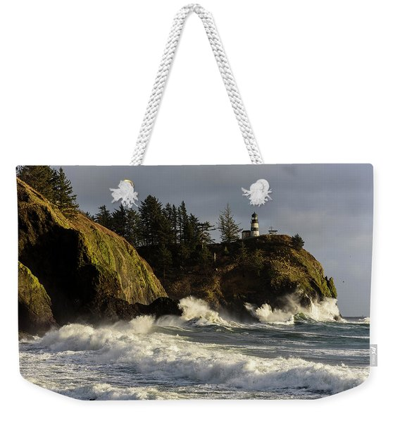 Vigorous Surf Weekender Tote Bag