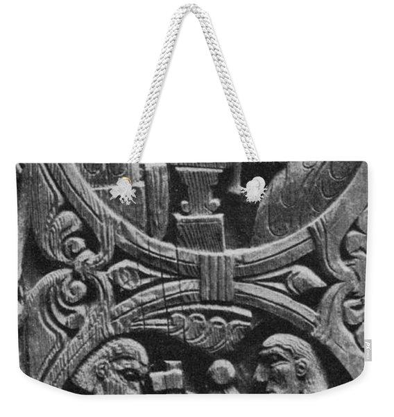 Viking Blacksmiths Forge The Sword Weekender Tote Bag