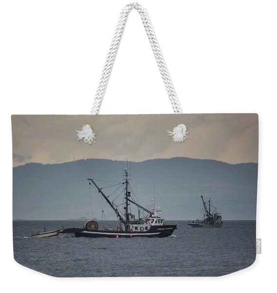 Viking Sunrise Weekender Tote Bag