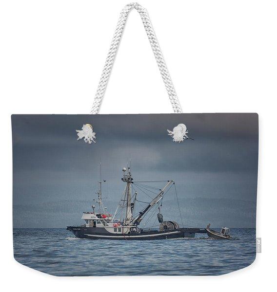 Viking Tide Weekender Tote Bag