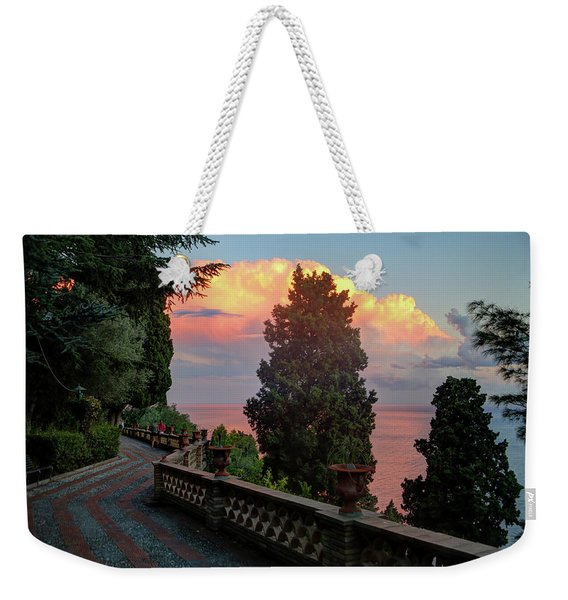 Villa Comunale Weekender Tote Bag