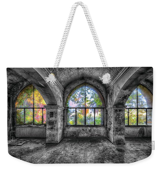 Villa Of Windows On The Sea - Villa Delle Finestre Sul Mare I Weekender Tote Bag