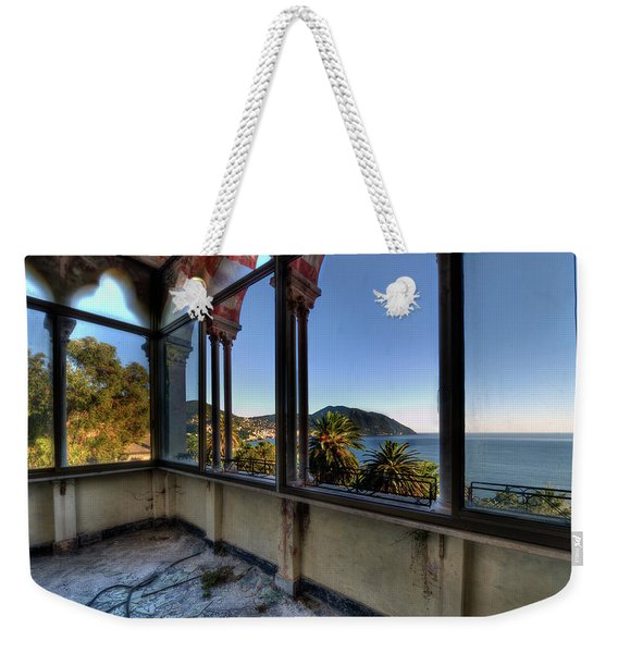 Villa Of Windows On The Sea - Villa Delle Finestre Sul Mare II Weekender Tote Bag
