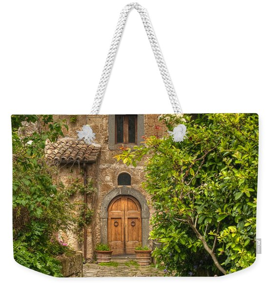 Village Lane Weekender Tote Bag