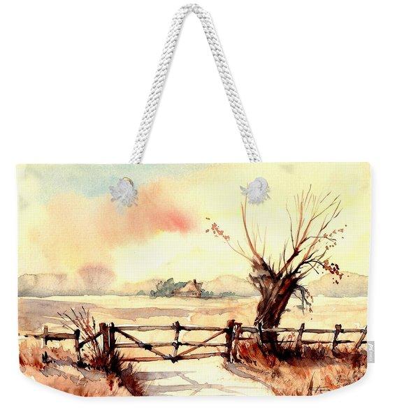 Village Scene IIi Weekender Tote Bag