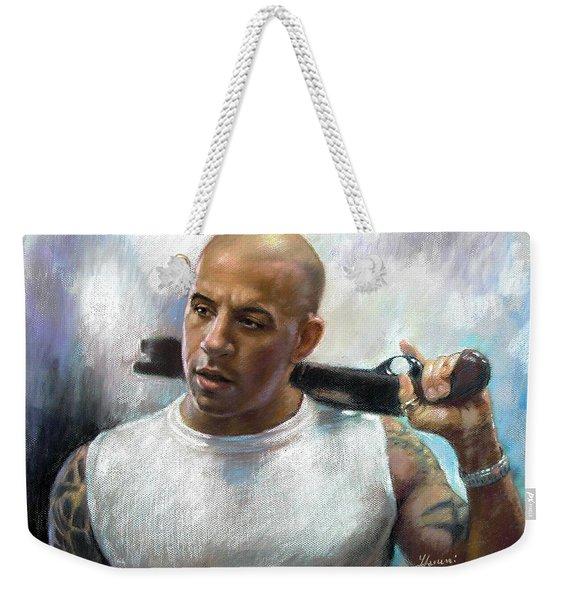 Vin Diesel Weekender Tote Bag