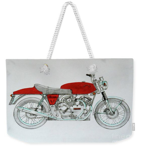 Vincent-commando Weekender Tote Bag