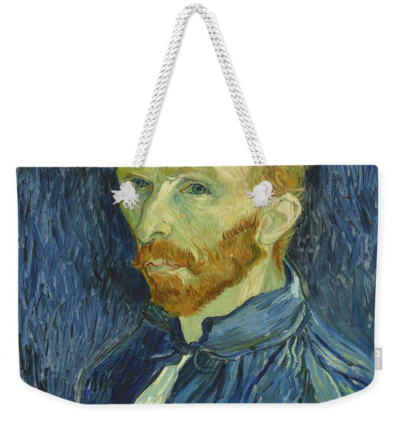 Vincent Van Gogh Self-portrait 1889 Weekender Tote Bag