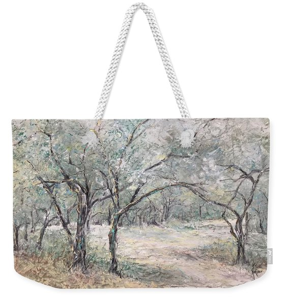 Vincents Olive Trees 2 Weekender Tote Bag