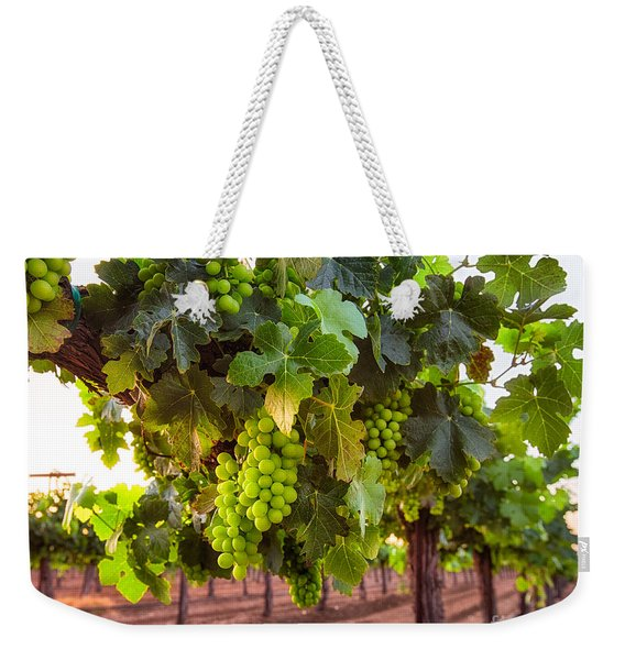 Vineyard 3 Weekender Tote Bag