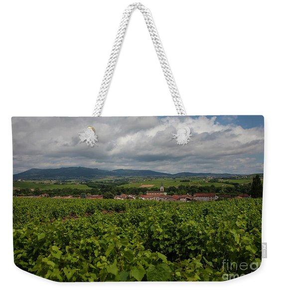 Vineyard Weekender Tote Bag