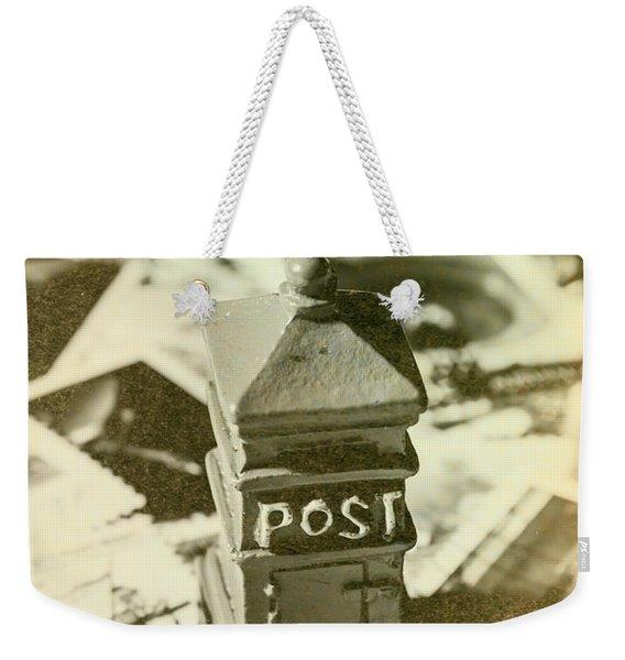 Vintage Australian Postage Art Weekender Tote Bag