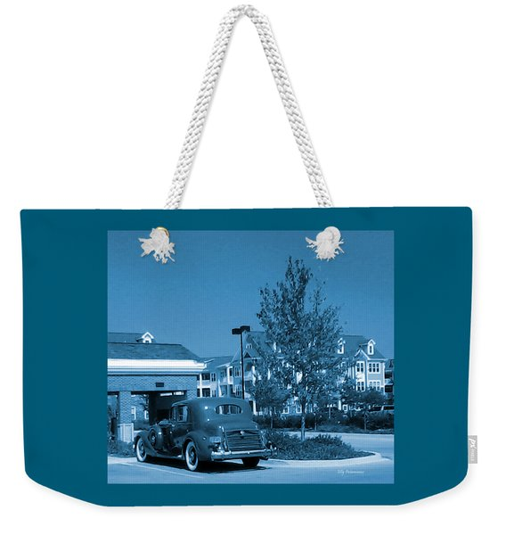 Vintage Automobile Weekender Tote Bag