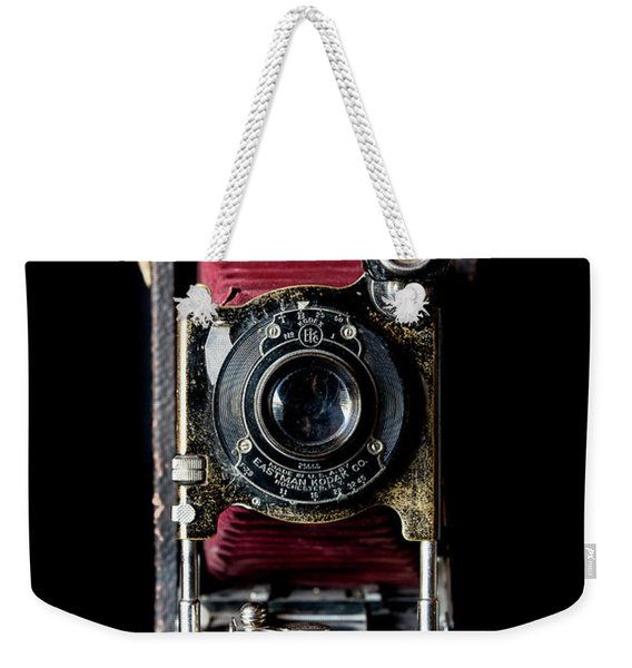 Vintage Bellows Camera Weekender Tote Bag