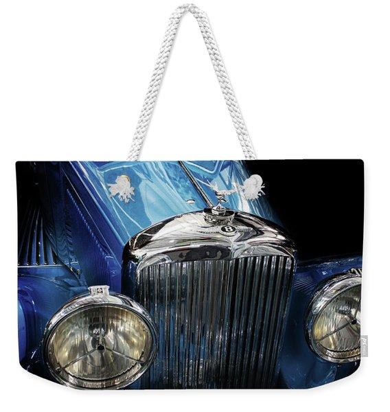 Vintage Bentley Weekender Tote Bag