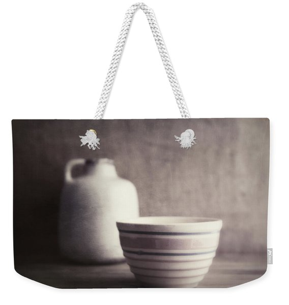 Vintage Bowl With Jug Weekender Tote Bag