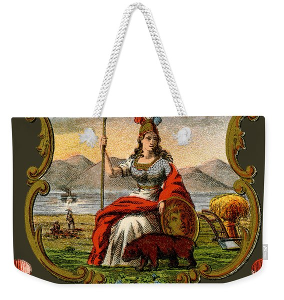 Vintage California Coat Of Arms Weekender Tote Bag