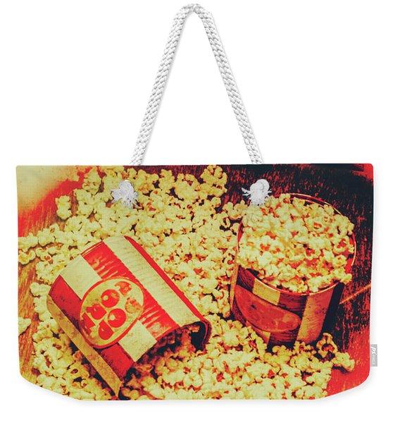 Vintage Carnival Snack Booth Weekender Tote Bag