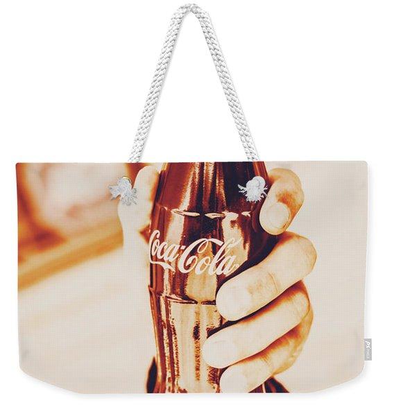 Vintage Cheers Weekender Tote Bag