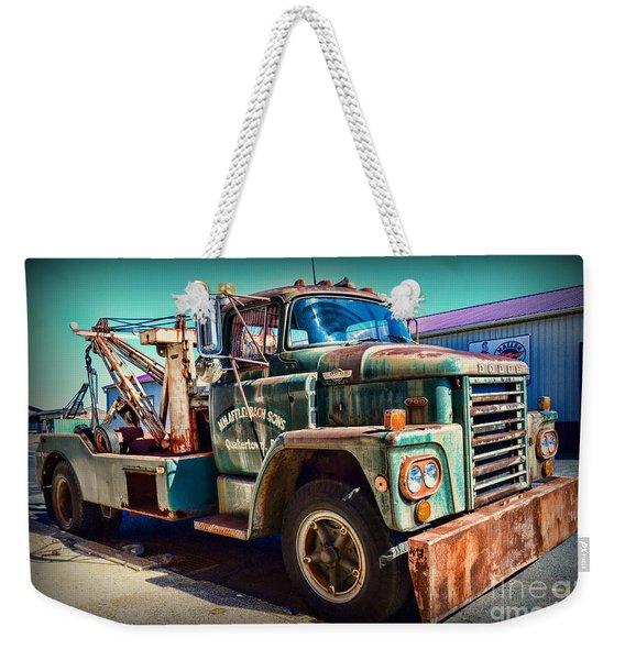 Vintage Dodge Tow Truck Weekender Tote Bag