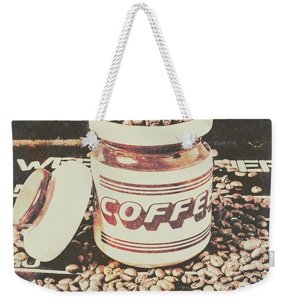 Vintage Drinks Decor  Weekender Tote Bag