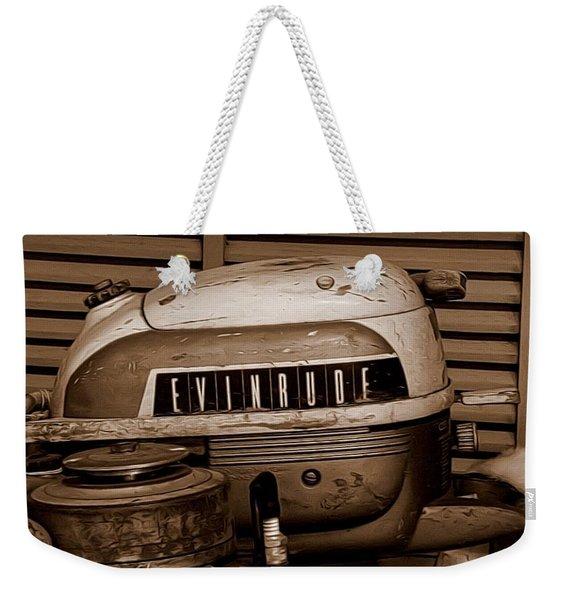 Vintage Evinrude Weekender Tote Bag
