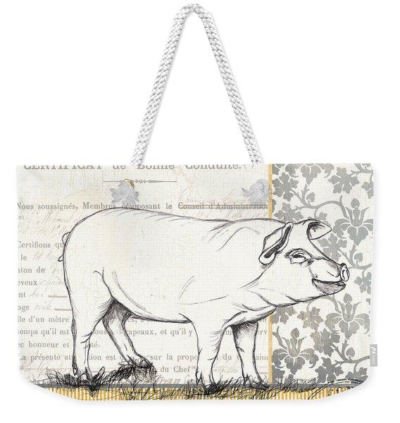 Vintage Farm 2 Weekender Tote Bag