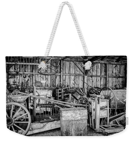 Vintage Farm Display Weekender Tote Bag
