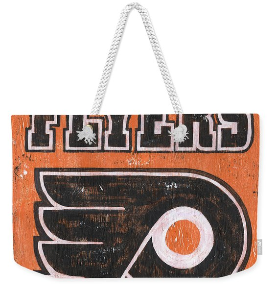 Vintage Flyers Sign Weekender Tote Bag