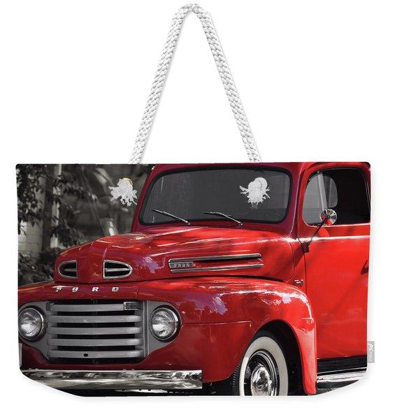 Vintage Ford Weekender Tote Bag