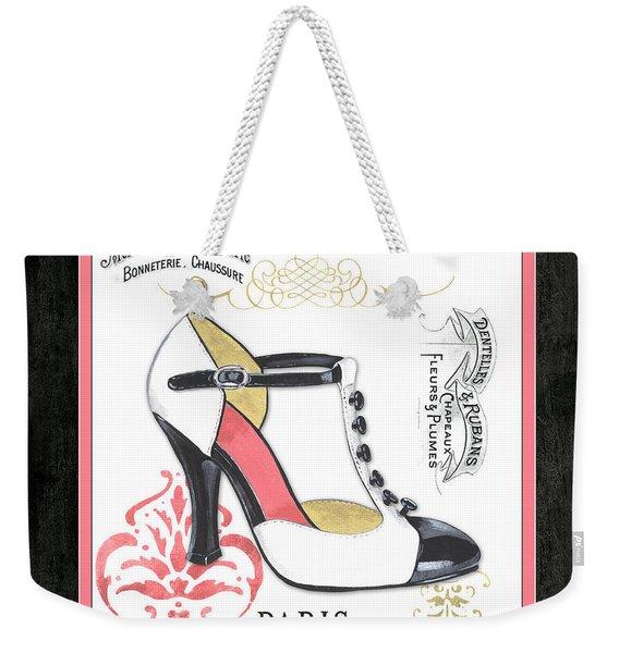Vintage French Shoes 1 Weekender Tote Bag