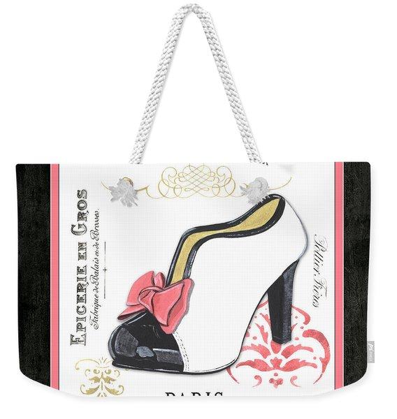 Vintage French Shoes 2 Weekender Tote Bag