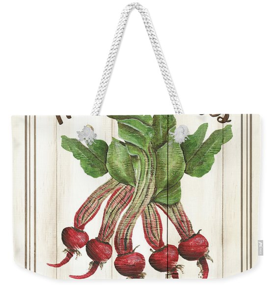 Vintage Fresh Vegetables 1 Weekender Tote Bag