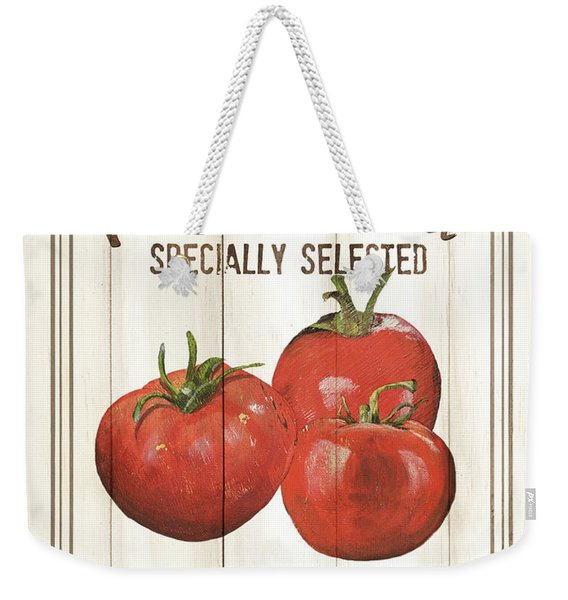 Vintage Fresh Vegetables 4 Weekender Tote Bag