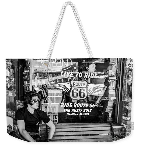 Vintage General Store Weekender Tote Bag