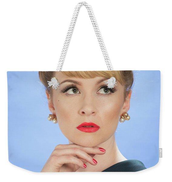 Vintage Glamour Weekender Tote Bag