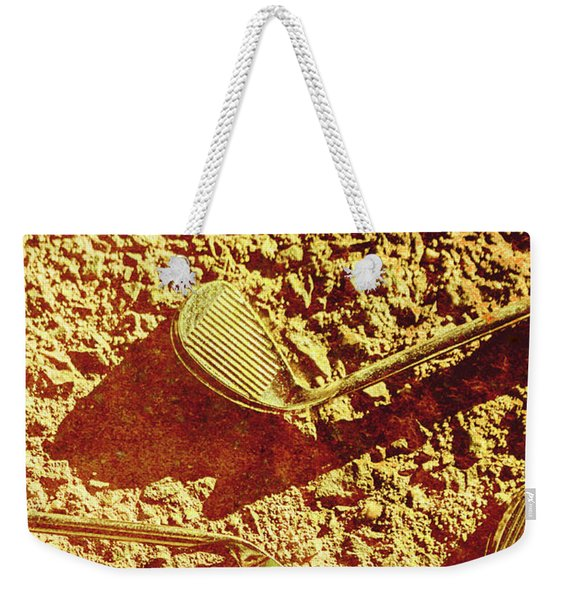 Vintage Golf Irons Weekender Tote Bag