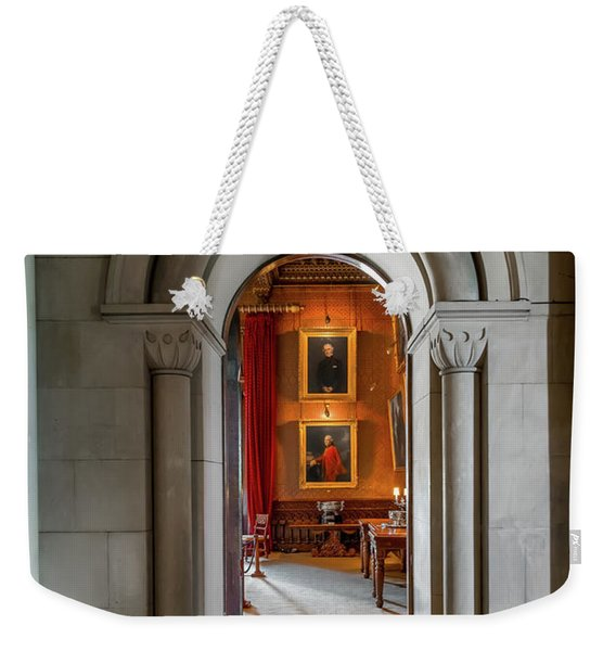 Vintage Hall Weekender Tote Bag