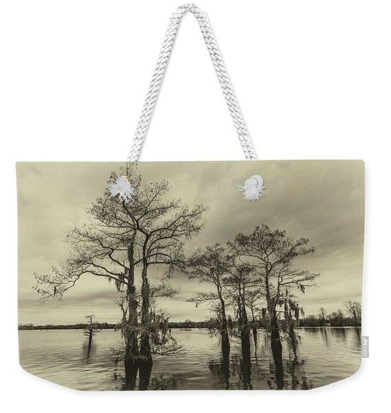 Vintage Henderson Swamp  Weekender Tote Bag