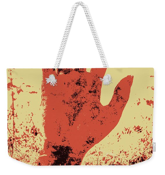 Vintage Horror Poster Art  Weekender Tote Bag