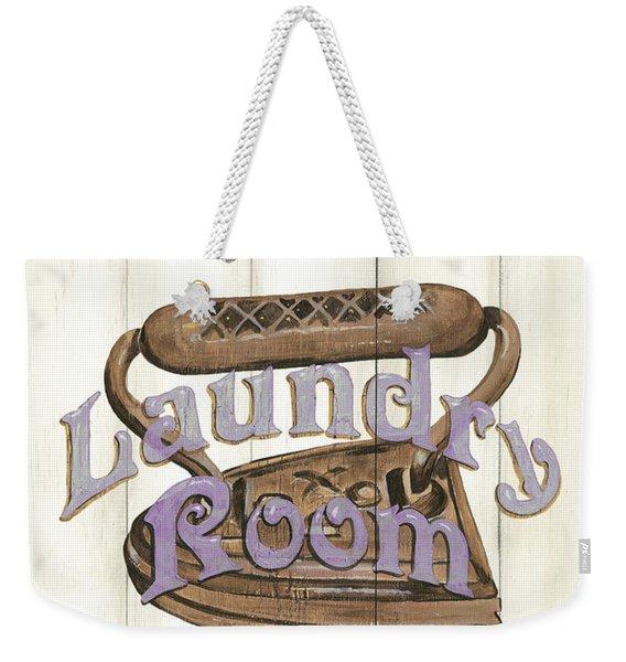 Vintage Laundry Room 1 Weekender Tote Bag