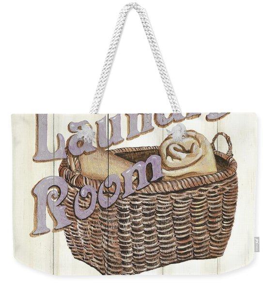 Vintage Laundry Room 2 Weekender Tote Bag