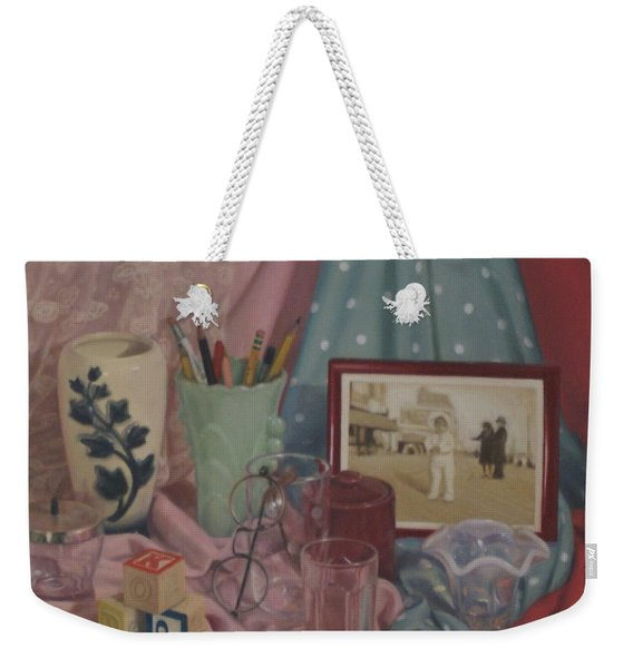 Vintage Objects Weekender Tote Bag