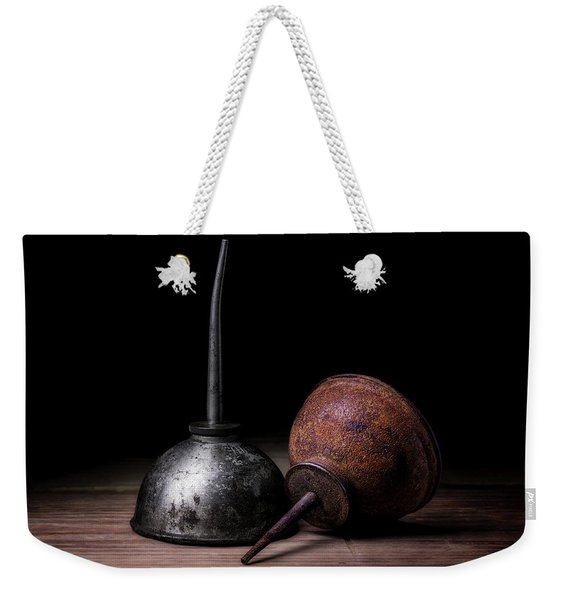 Vintage Oilers Weekender Tote Bag