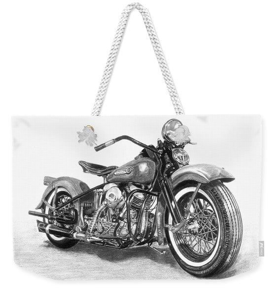 Vintage Panhead Weekender Tote Bag