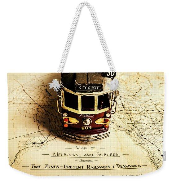 Vintage Railways And Tramways Weekender Tote Bag