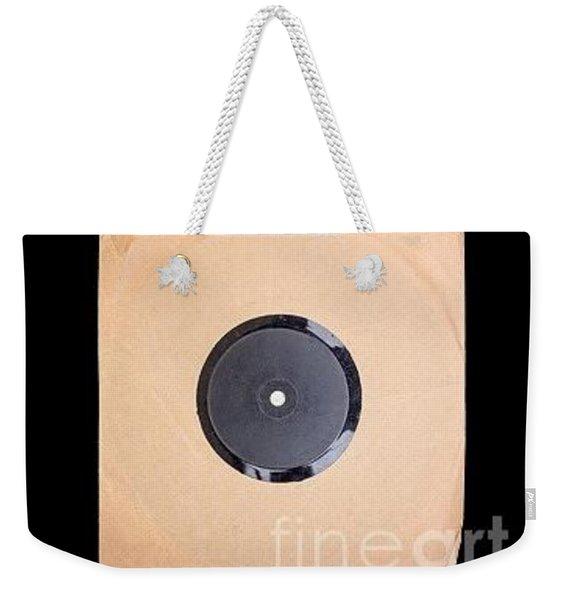 Vintage Record Album Tee Weekender Tote Bag