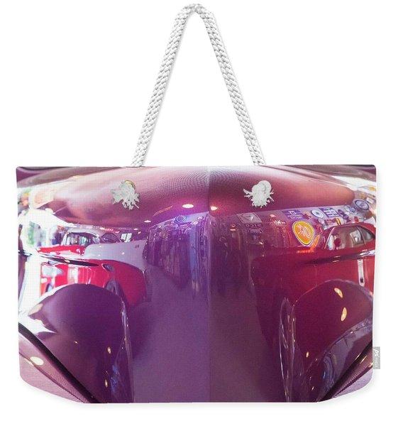 Vintage Reflections  Weekender Tote Bag