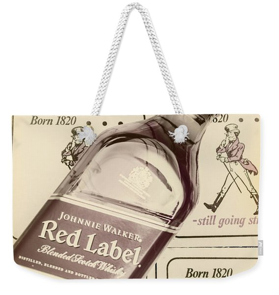 Vintage Scotch Whisky Pub Artwork Weekender Tote Bag