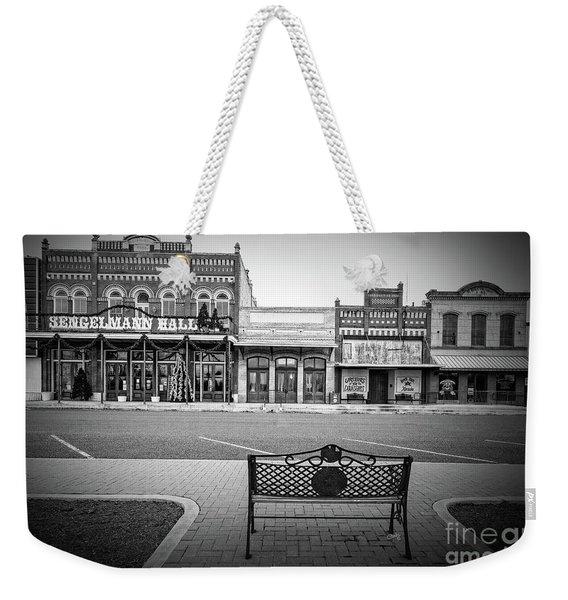 Vintage Street View Weekender Tote Bag